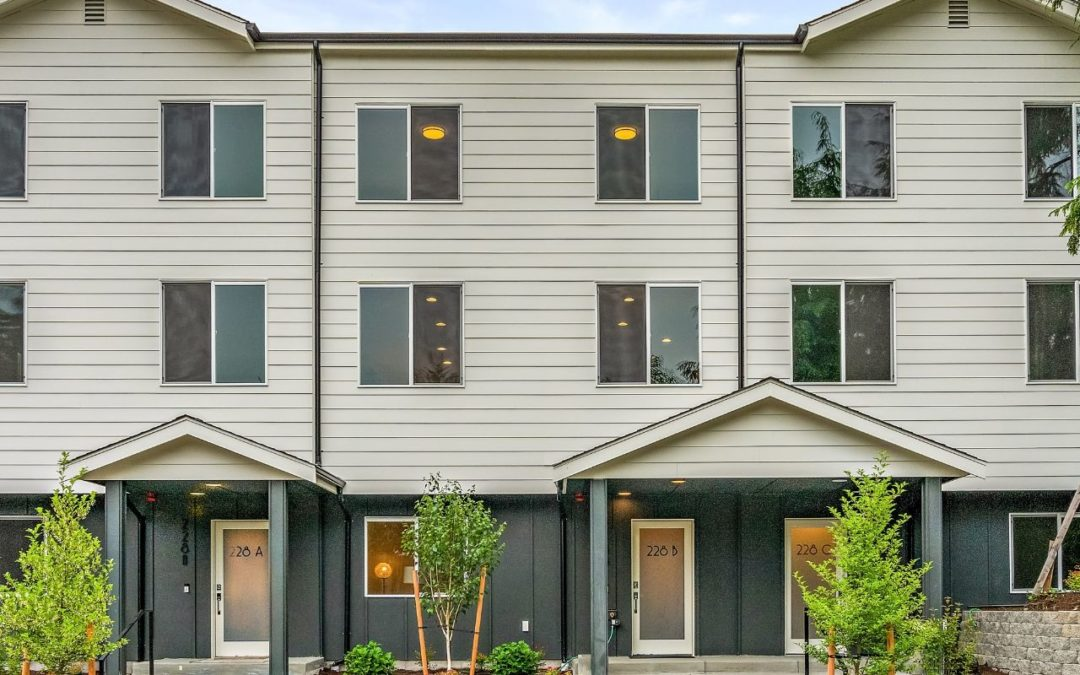Just Listed: Shoreline New Construction Townhomes on 180th