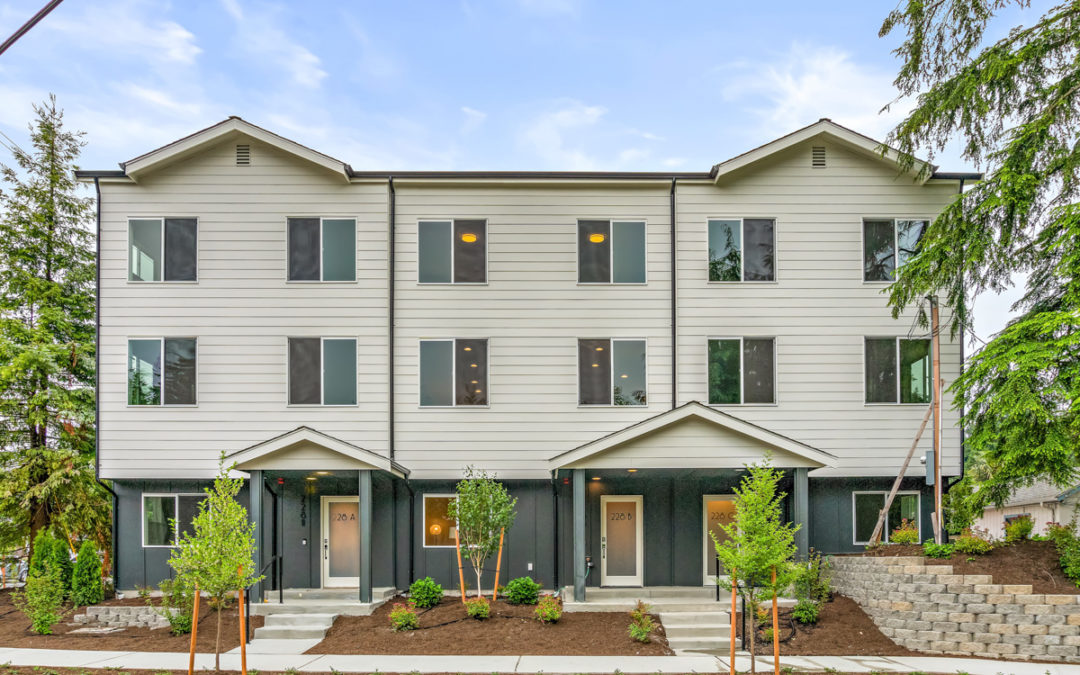 Shoreline New Construction Townhomes 180th